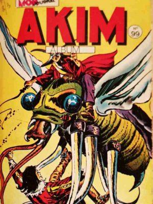 AKIM (1e série) ALBUM 99 (N°517-518-519-520) MON JOURNAL 1982