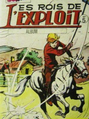 LES ROIS DE L'EXPLOIT ALBUM 5 (N°13-14-15) (Mon Journal)