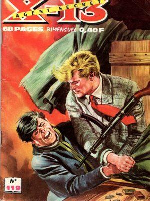 X13 AGENT SECRET N°119 – Troisième acte – IMPERIA 1965