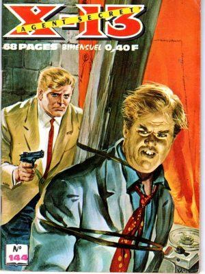 X13 AGENT SECRET N°144 – De piège en piège – IMPERIA 1966