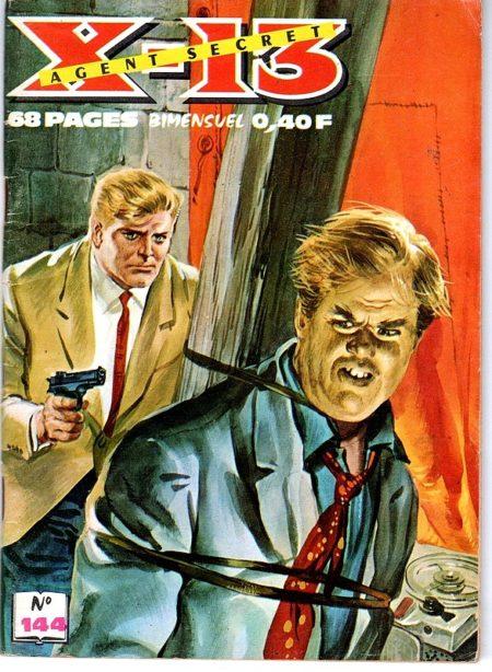 X13 AGENT SECRET N°144 - De piège en piège - IMPERIA 1966