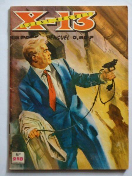 X13 AGENT SECRET N°218 - Requiem pour un espion - IMPERIA 1969