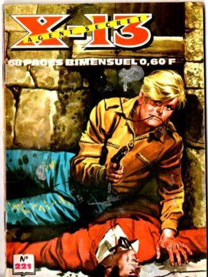 X13 AGENT SECRET N°221 – Réunions d'espions – IMPERIA 1970