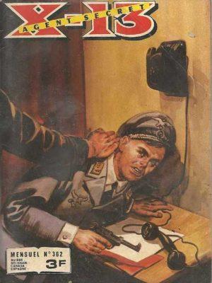 X13 AGENT SECRET N°362 Une drôle de vieille dame (IMPERIA 1979)