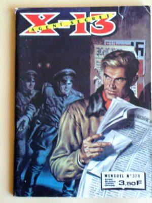 X13 AGENT SECRET N°379 Le pigeon voyageur (IMPERIA 1981)