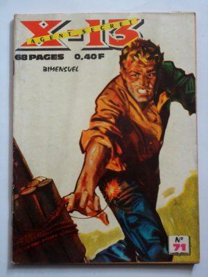 X13 AGENT SECRET N°71 Prisonnier volontaire (IMPERIA 1963)