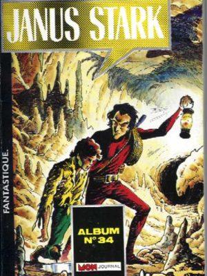 JANUS STARK ALBUM 34 (100-101-102) Mon Journal 1987