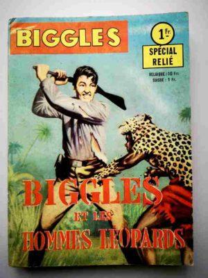BIGGLES ALBUM 252 (N°3-4) les Hommes-léopard – ARTIMA 1963