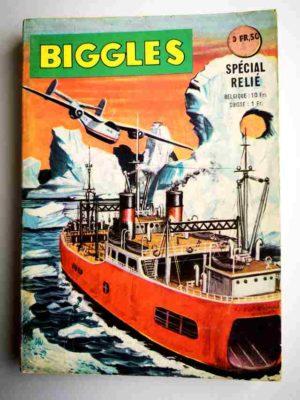 BIGGLES ALBUM 278 (N°7-8) Au Pôle Sud – ARTIMA 1964