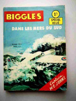 BIGGLES ALBUM 288 (N°9-10) Dans les Mers du Sud – ARTIMA 1965