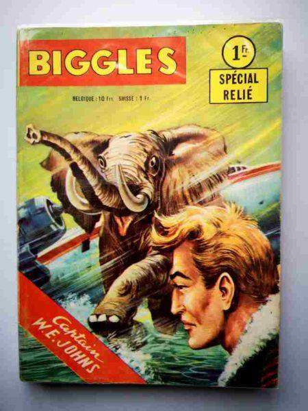 BD BIGGLES ALBUM 315 (N°11-12-13) ARTIMA 1964