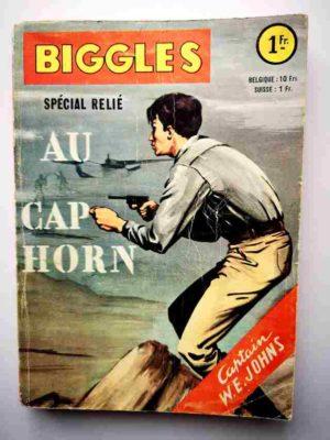 BIGGLES ALBUM 209 (N°1-2) Au cap Horn – ARTIMA 1963