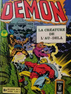 DEMON 1E SERIE N°1 La créature de l'au-delà – AREDIT 1976