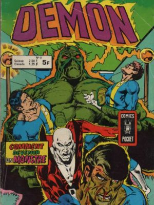 DEMON 1E SERIE N°11 Comment devenir un monstre – AREDIT 1979