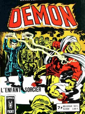 DEMON 1E SERIE ALBUM 3163 (N°3,4) L'enfant sorcier – AREDIT 1977