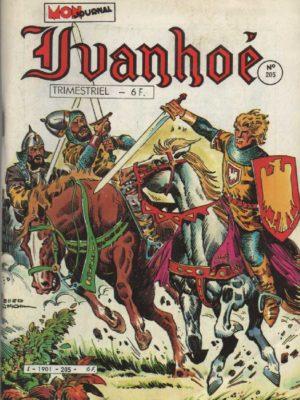 IVANHOE  N°205 L'honneur de Cornouailles – Mon Journal 1985