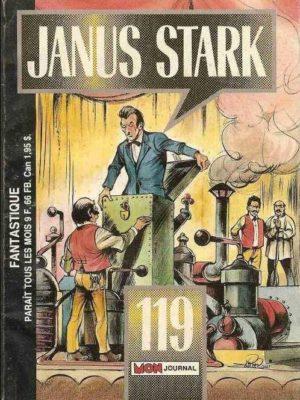 JANUS STARK N°119 L'étoile bleue de Brahmia – Mon Journal 1988