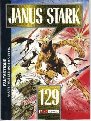JANUS STARK N°129 Mandrake – Le super-requin – Mon Journal 1989