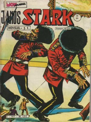 JANUS STARK N°56 Le défi de Janus – Mon Journal 1983