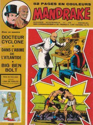 MANDRAKE N°419 Docteur Cyclone – Remparts 1974