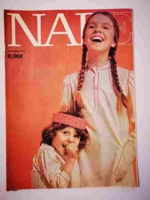NADE N°12(1969) Les jumelles et le petit Navire (Janine Lay)