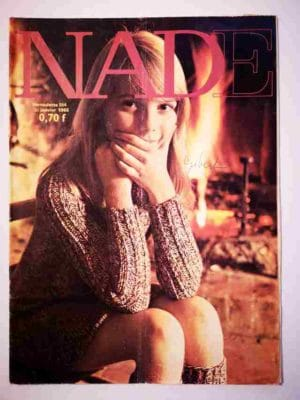NADE N°354 (1968) Les jumelles – une étoile a brillé (Janine Lay)