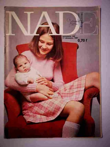 NADE N°349 (1967) Les jumelles (Une étoile a brillé) Marc-René Novi