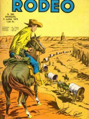 RODEO N°263 – TEX WILLER – LUG 1973