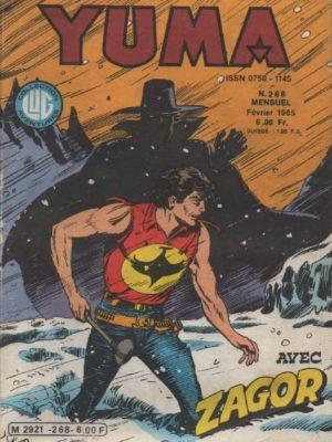 YUMA (1e Série) N°268 ZAGOR – Chasse à l'homme – LUG 1985