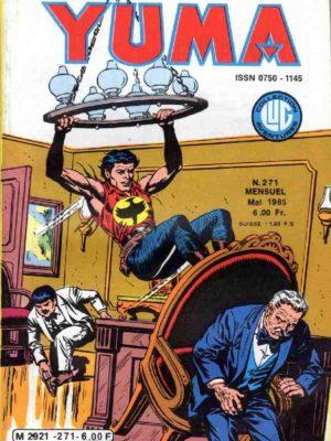 YUMA (1e Série) N°271 ZAGOR – La fin d'un bandit – LUG 1985