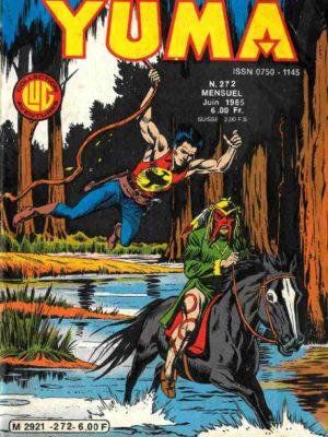 YUMA (1e Série) N°272 ZAGOR – Devil mask II – LUG 1985