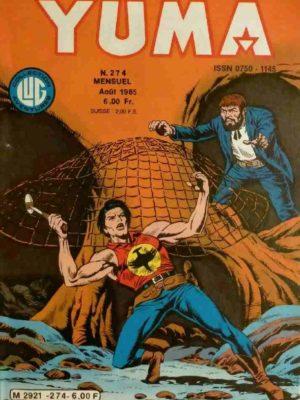 YUMA (1e Série) N°274 ZAGOR – Une position infernale – LUG 1985