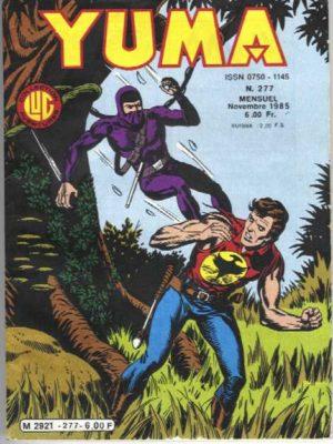 YUMA (1e Série) N°277 ZAGOR – L'homme en noir – LUG 1985