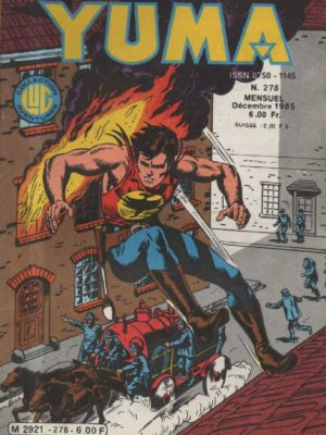 YUMA (1e Série) N°278 ZAGOR – Fort concrète – LUG 1985