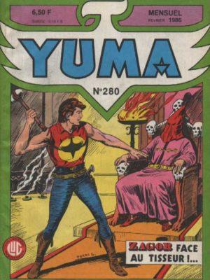 YUMA (1e Série) N°280 ZAGOR – Darkwood restaurant – LUG 1986