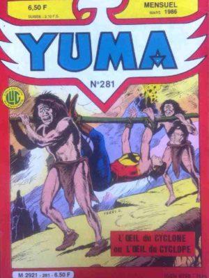 YUMA (1e Série) N°281 ZAGOR – Le gouffre infernal – LUG 1986