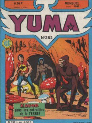 YUMA (1e Série) N°282 ZAGOR – L'enfer des abysses – LUG 1986