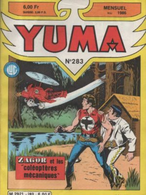 YUMA (1e Série) N°283 ZAGOR – La fin des abysses – LUG 1986
