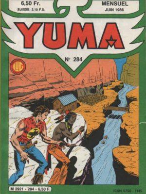 YUMA (1e Série) N°284 ZAGOR – Prisonnier dans la mine – LUG 1986