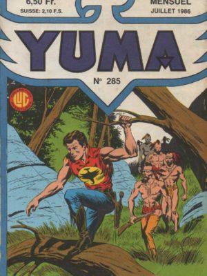YUMA (1e Série) N°285 ZAGOR – L'otage Chico – LUG 1986