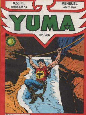 YUMA (1e Série) N°286 ZAGOR – Face à One Eyed-Jack – LUG 1986