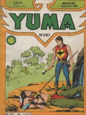 YUMA (1e Série) N°287 ZAGOR – Epilogue – LUG 1986