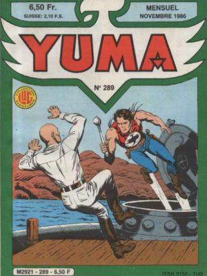 YUMA (1e Série) N°289 ZAGOR – Le Black Dolphin – LUG 1986