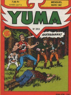 YUMA (1e Série) N°293 ZAGOR – Le retour de Satko (2) LUG 1987