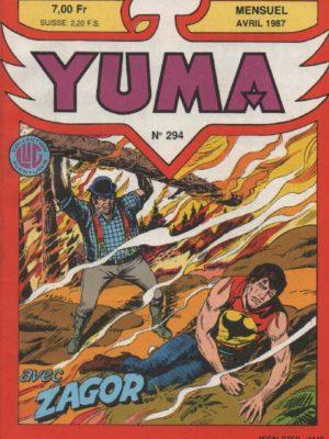YUMA (1e Série) N°294 ZAGOR – Zagor en prison – LUG 1987