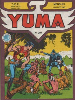YUMA (1e Série) N°297 ZAGOR – La mort de Zagor – LUG 1987