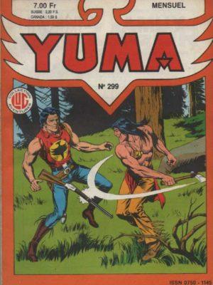 YUMA (1e Série) N°299 ZAGOR – Celui qui ne meurt pas – LUG 1987