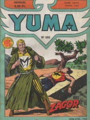 YUMA (1e Série) N°302 ZAGOR – Le super-repenti – LUG 1987