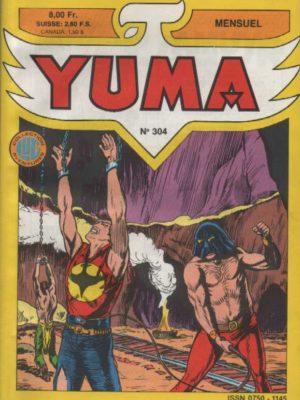 YUMA (1e Série) N°304 ZAGOR – Les diables noirs – LUG 1988