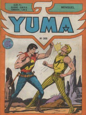 YUMA (1e Série) N°305 ZAGOR – L'exploit de Chico – LUG 1988